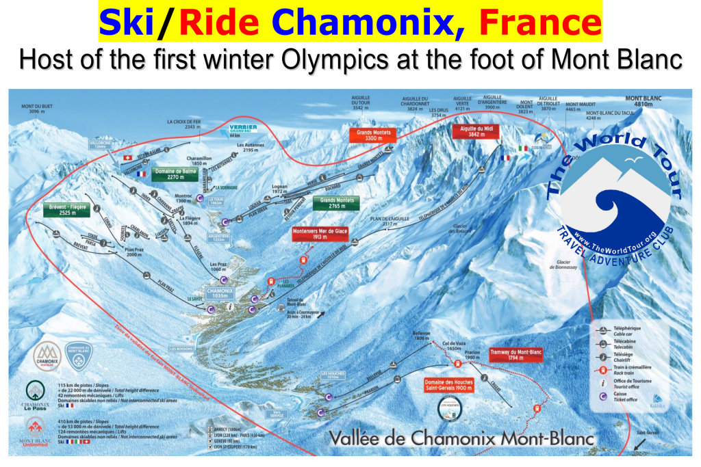 Chamonix, Mont Blanc, FRENCH ALPS $1,995 with Boston flights